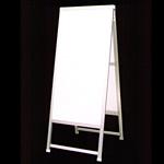 アルミ製額縁A型看板 600×1200+足300 CN-12 透明保護板付